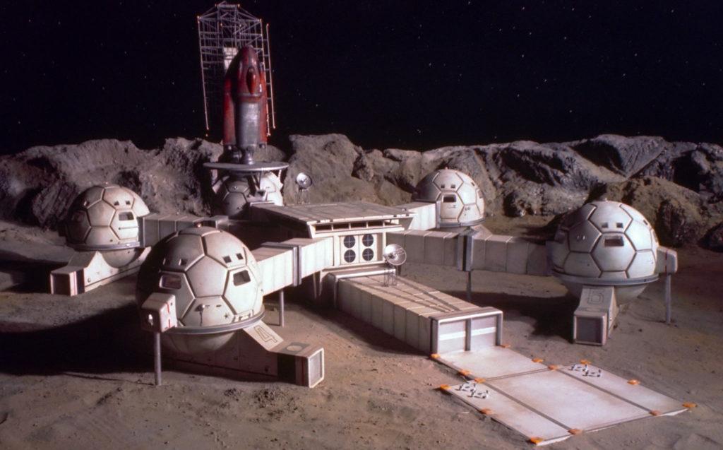 Лунная база. Проект