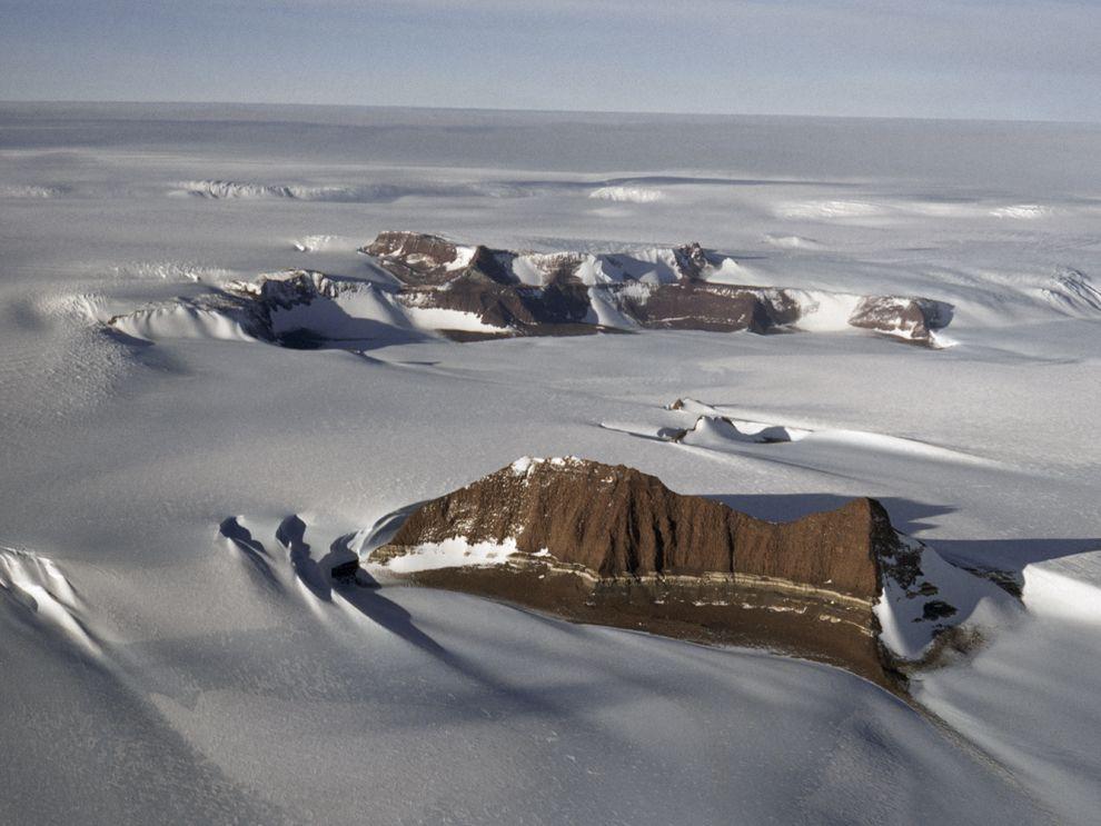 Ледники. Антарктида