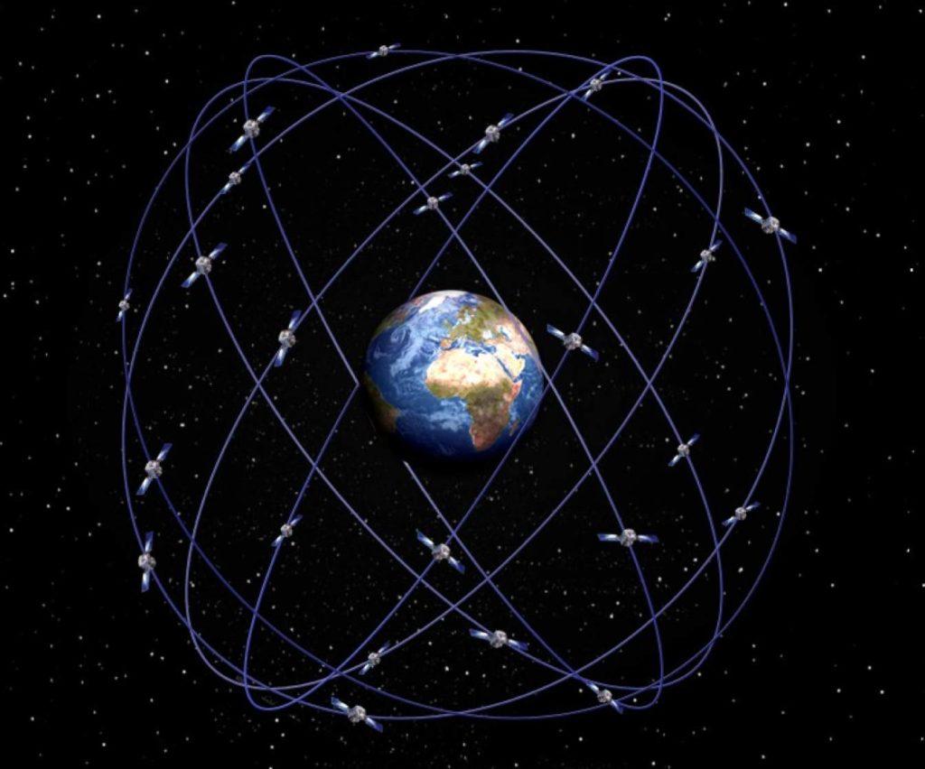 Cпутники Глобальной системы определения координат