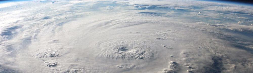 Ураган. Фото из космоса