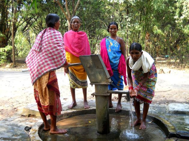 Проблемы с водой в Индии