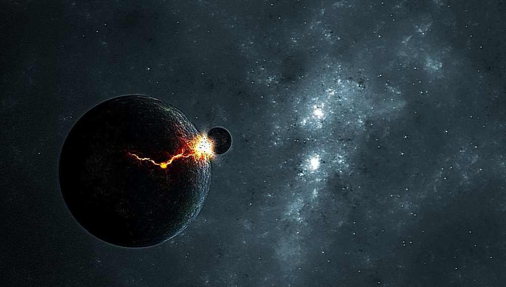 Столкновение Земли с космическим объектом