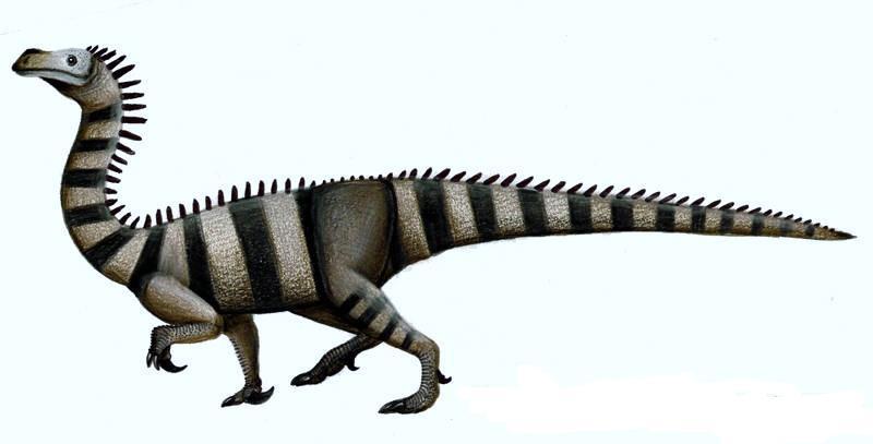 Унайзавр небольшой травоядный динозавр