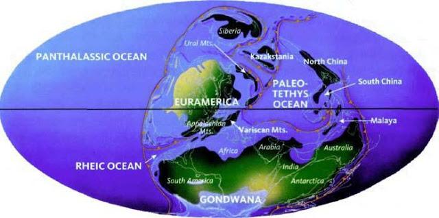 Суперконтинент Лавруссия (Еврамерика)