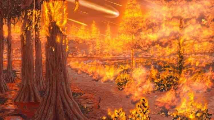 Огненный ад на Земле