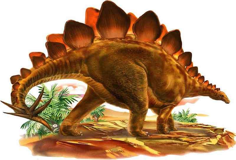 Стегозавр один из самых известных динозавров