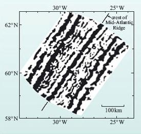 Карта магнитных аномалий