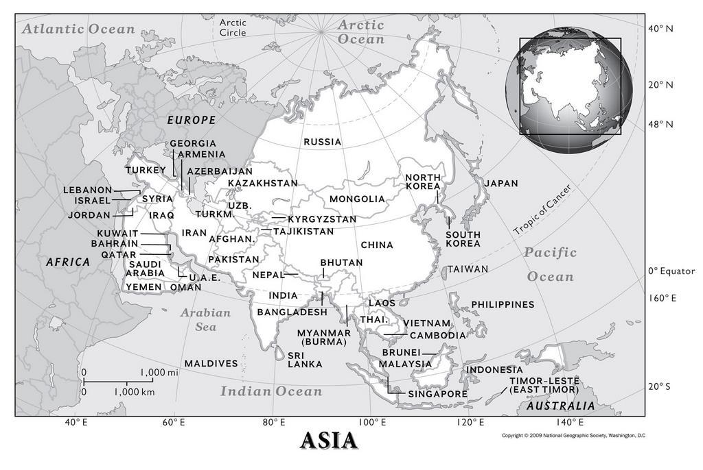 Материк Азия