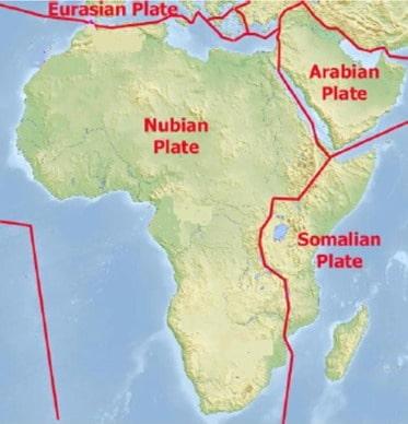 Африканская тектоническая плита
