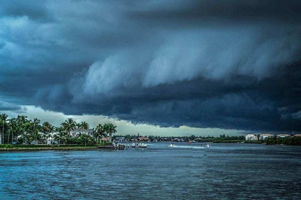 Накануне бури