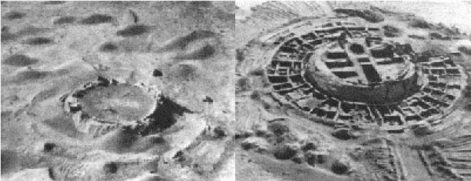 Непонятные структуры на Луне