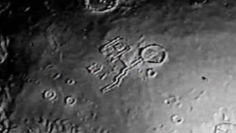 Таинственные структуры на Луне