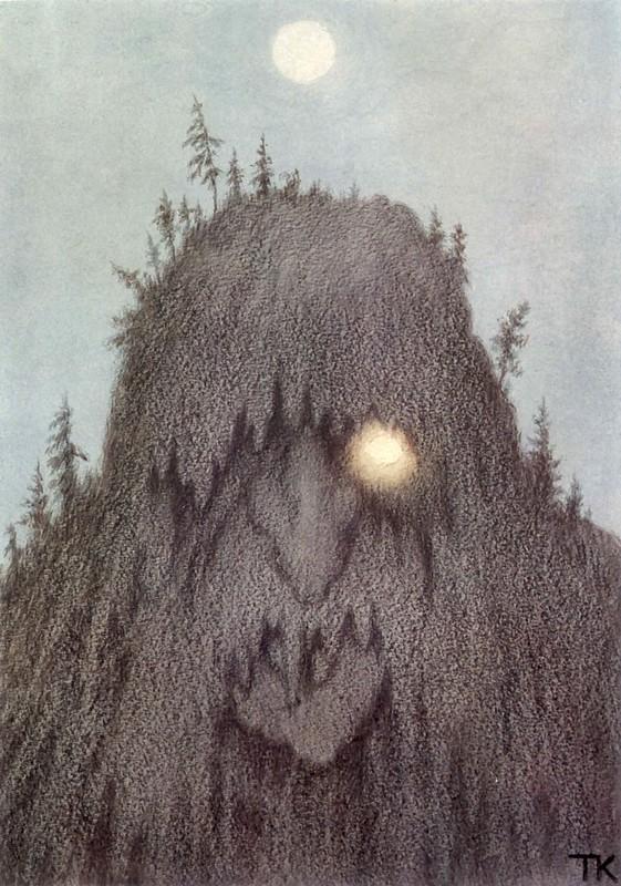 Киттелсен. Лесной тролль