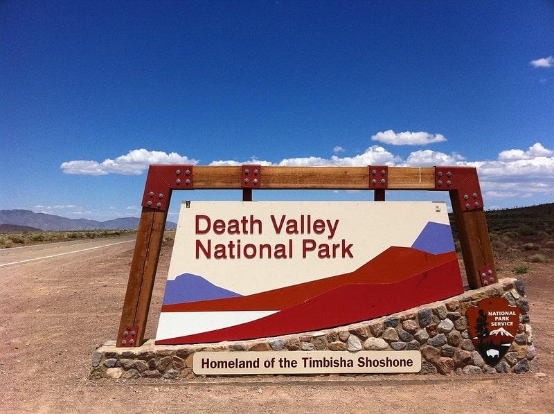 Знак Долина Смерти