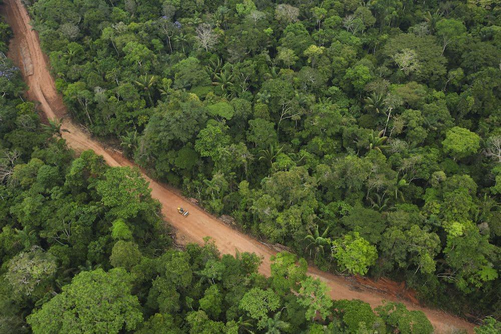 Дорога через Амазонку