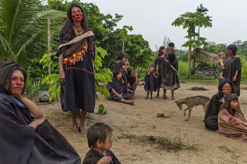 Индейцы племени Ашенинка