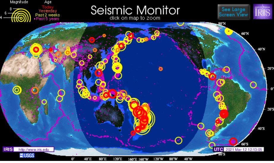 Сейсмическая карта