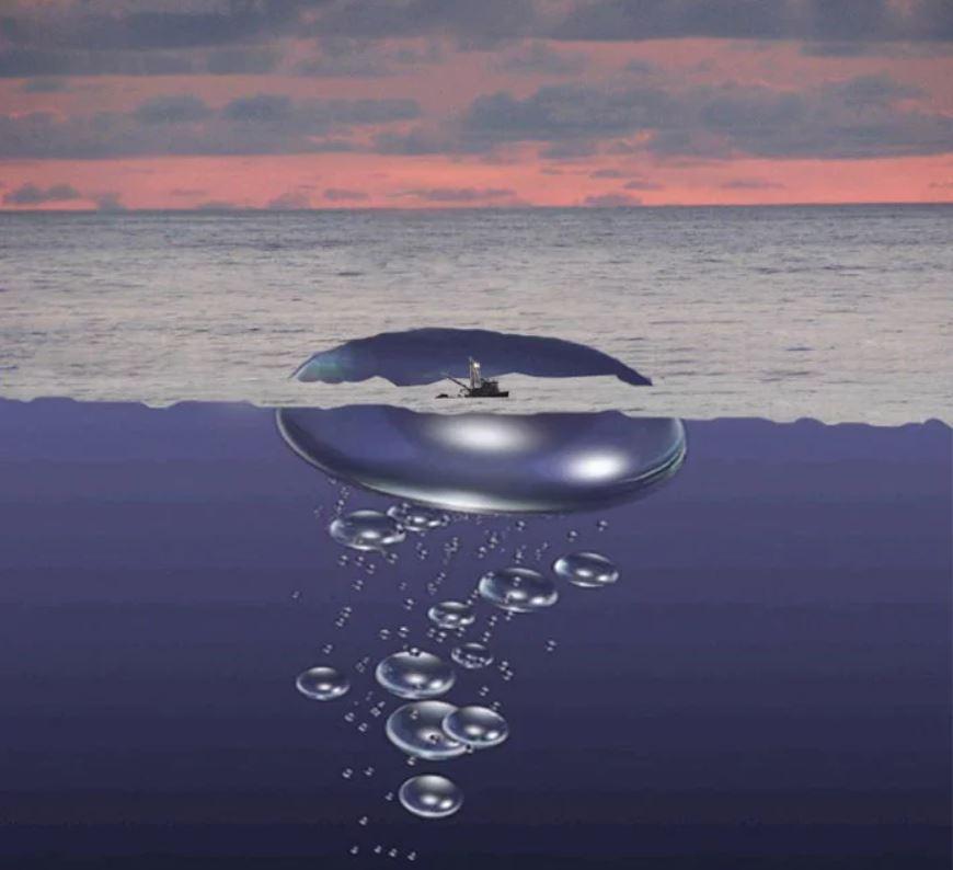 Корабль в пузыре