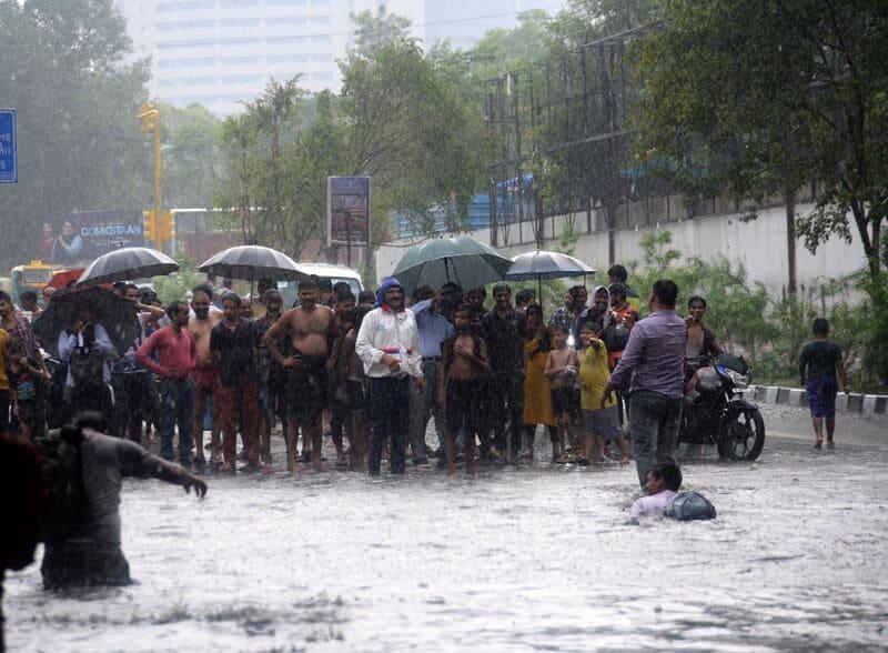 Дождь, Индия