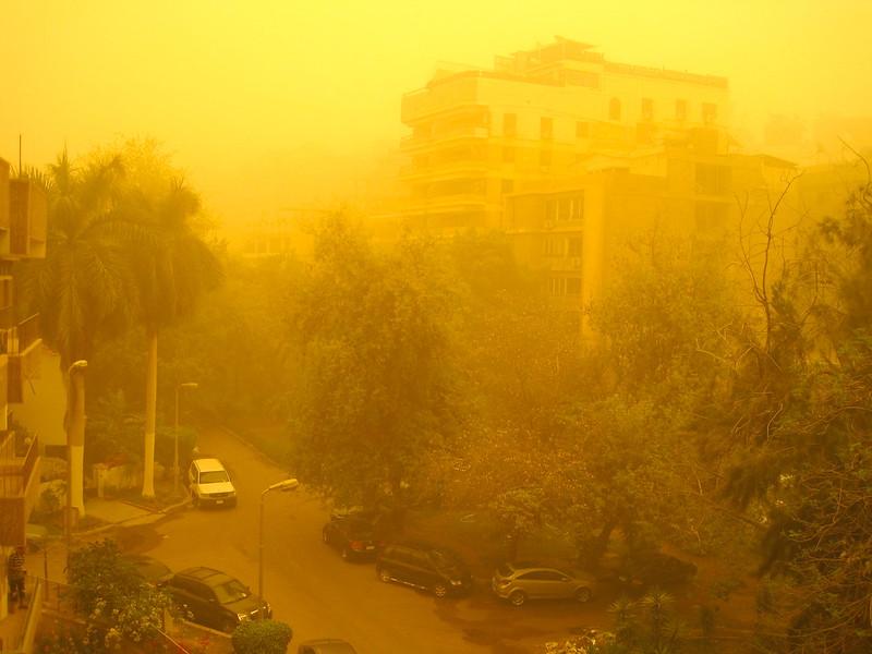 Хамсин в Каире