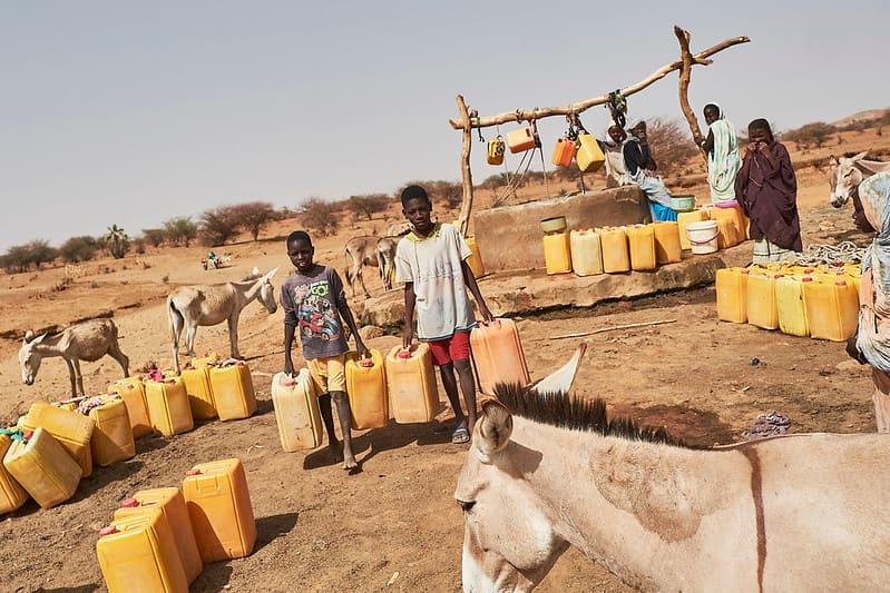 Мавритания. Засуха