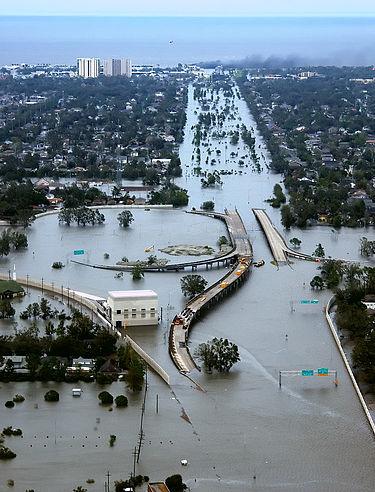 Наводнение Катрина