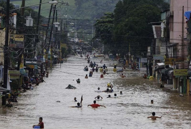 Наводнение Лусон
