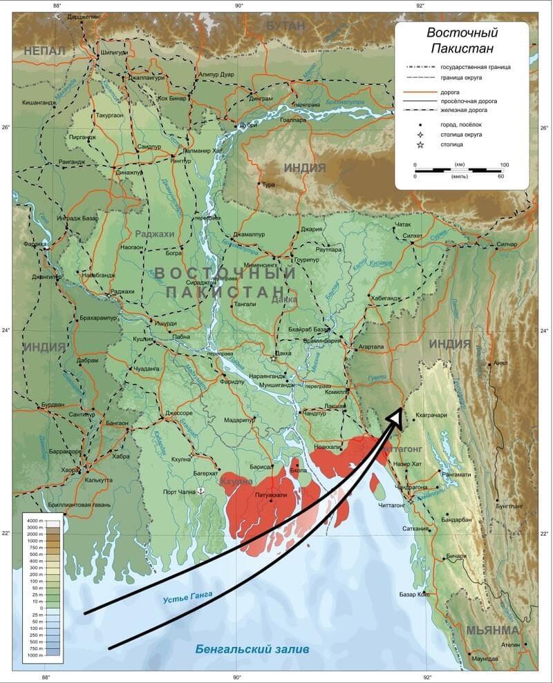 циклон Бхола