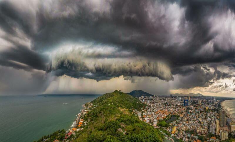 Ураган. Вьетнам