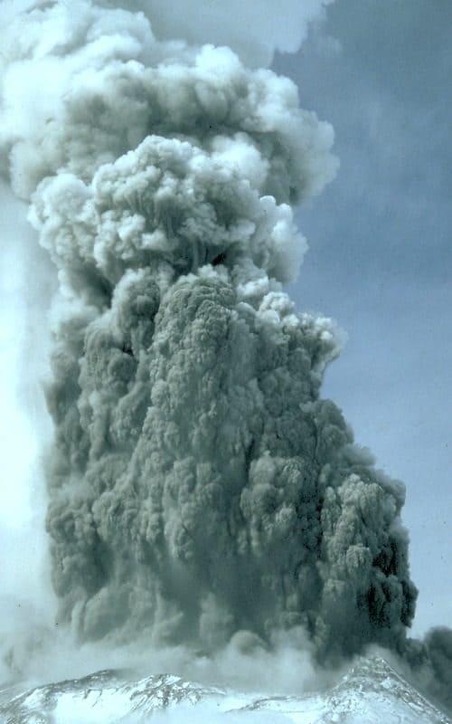 Извержение Сент-Хеленс, апрель 1980